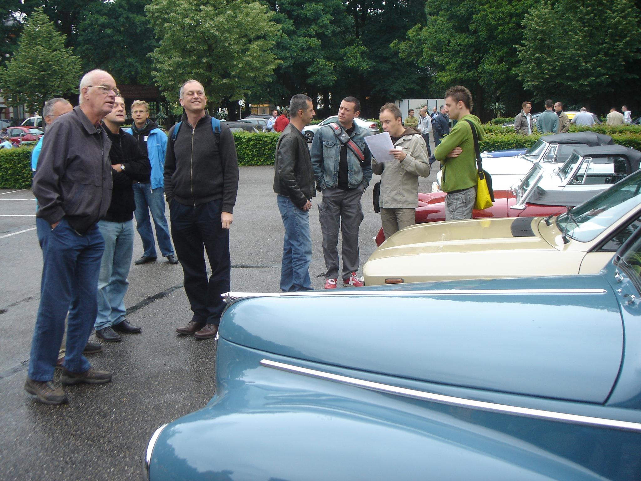 Corvette, Opel Rekord,